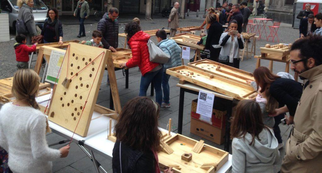 Giochi tradizionali in legno