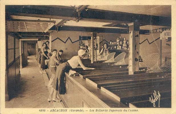 Biliardo giapponese - Foto storica